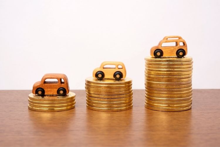 know the trade in value of the car